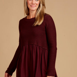b5f004af66 Altar d State Sweaters - Altar d State Burgundy Marianna Sweater